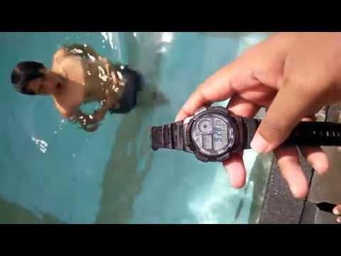 Review Casio AE-1000W (Underwater Test)