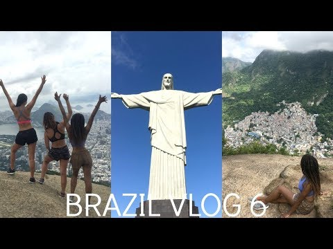 Brazil Travel Vlog 6 | IVHQ | Hiking Two Brothers Mountain | Christ The Redeemer | Rio de Janeiro