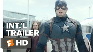 Captain America: Civil War Official International Trailer #1 (2016) - Chris Evans Movie HD