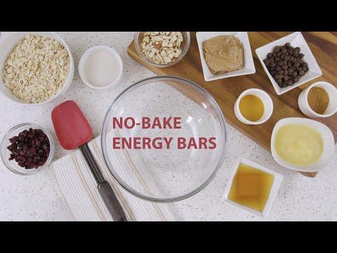 No Bake Energy Bars