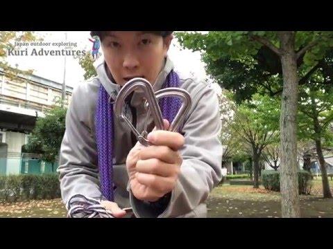木と木にロープを張る方法|Kuri Adventures 登山のロープワーク
