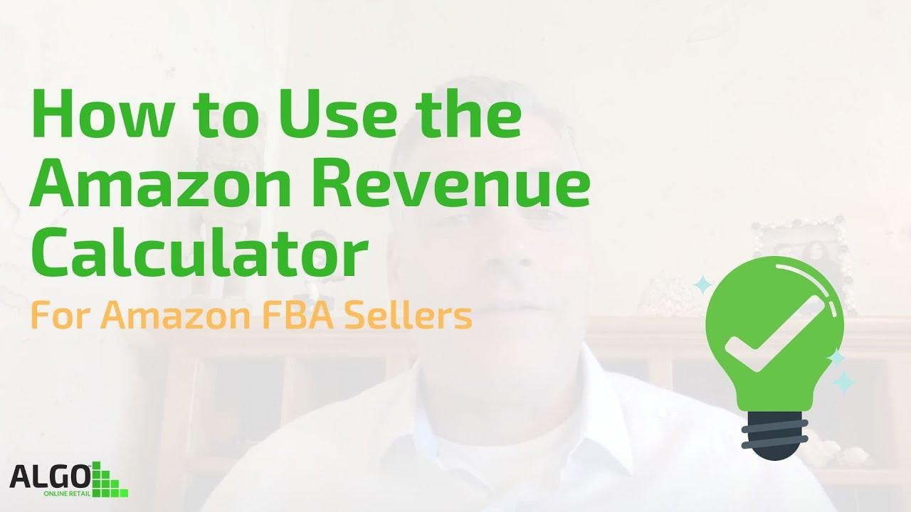 How to Use the Amazon Revenue Calculator