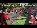 Thử Thách Bóng Đá World Cup 2018 sút Penalty như Ronaldo cùng thủ môn Robot