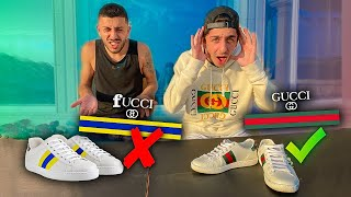 FaZe Rug Guesses REAL VS FAKE GUCCI!!