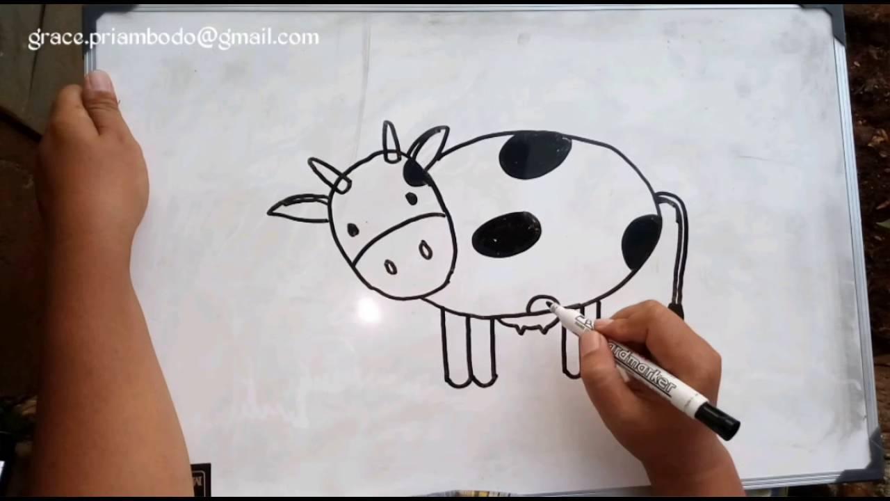 Cara Menggambar Sapi How To Draw A Cow Doovi – Cuitan Dokter