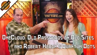 TekThing 2: Kill Old Passwords! Super Bowl TVs, Free Storage vs. CrashPlan, Razer Cortex