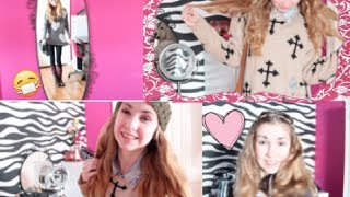 Lazy/ Sick Day ~ Makeup, Heatless Hairstyle & Outfit Ideas! Thumbnail