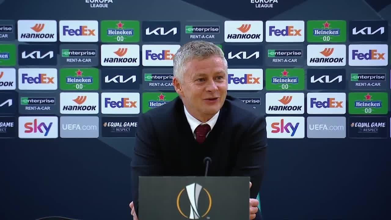 Ole Gunnar Solskjaer Reacts To Manchester United's EL Semi-Final Victory