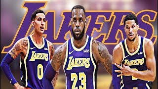 Stephen A.Smith Says Lakers Best Chance Of Winning Is With Kuzma,Hart,Lebron