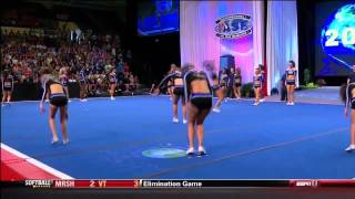 The California All Star - Lady Bullets Cheerleading 2013