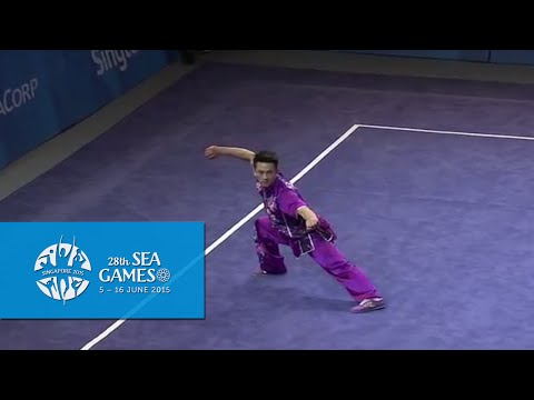 Wushu - Men's Optional Changquan (Day 1) | 28th SEA Games Singapore 2015