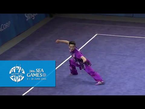 Wushu - Men's Optional Changquan (Day 1) | 28th SEA Games Singapore 2015