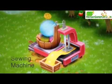 Two Favourite Hay Day Machine YouTube Interesting Hay Day Sewing Machine