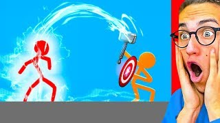WORLD'S MOST INSANE STICK FIGHT ANIMATION!