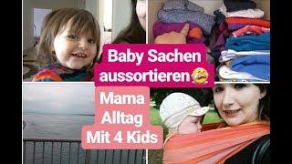 VLOG| 4 Kinder & Mama Auszeit zum Shoppen| Baby Sachen aussortieren | DM, Schuh & Spielzeug Haul
