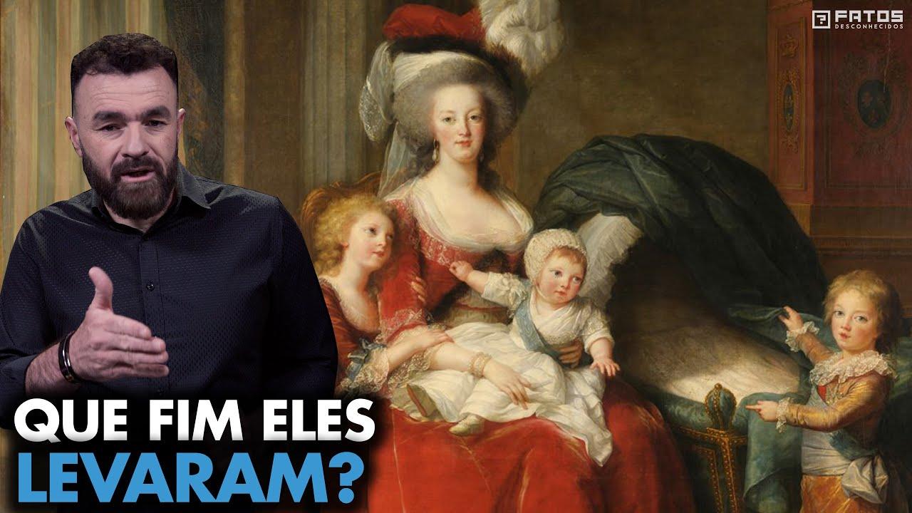 Como era a vida dos filhos da Maria Antonieta?