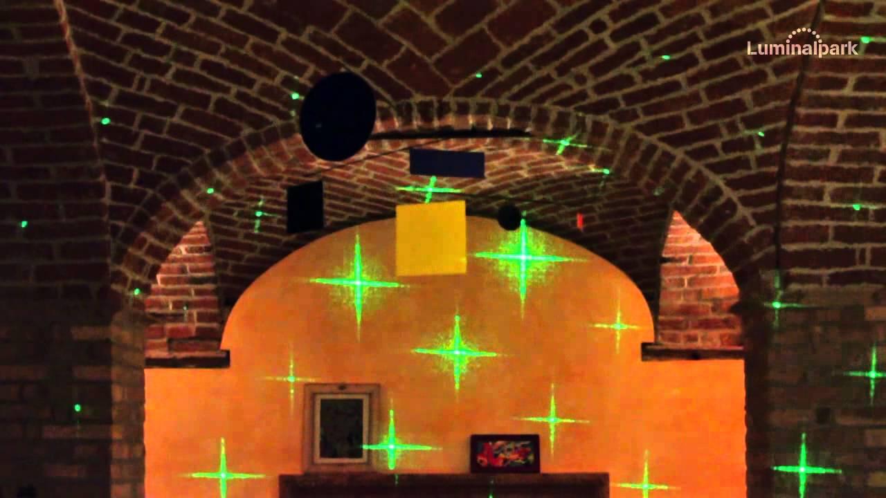 Illuminazione laser magia di stelle happycinzia