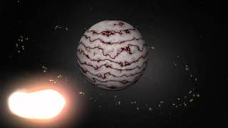 Completed Comet and Asteroid Belt - Maya - Basic Animation