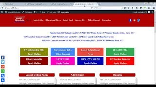 sarkarijobfind.com جديد Sarkari نتيجة معلومات الموقع كيفية إنشاء.