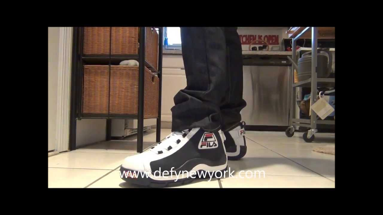 LIVE! Fila 96 Grant Hill II All Star Colorway Review On Feet 2013