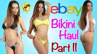 BIKINI HAUL | TRY ON FROM EBAY PART II