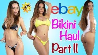 BIKINI HAUL | TRY ON FROM EBAY PART II