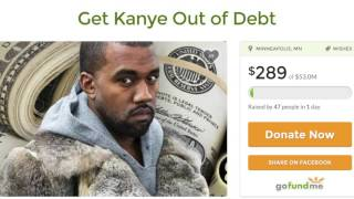 Fans try crowdfunding to help get Kanye West out of debt