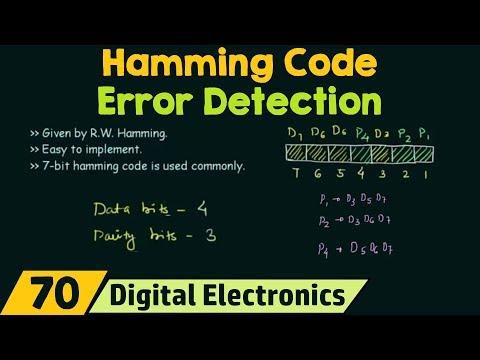Hamming Code   Error detection