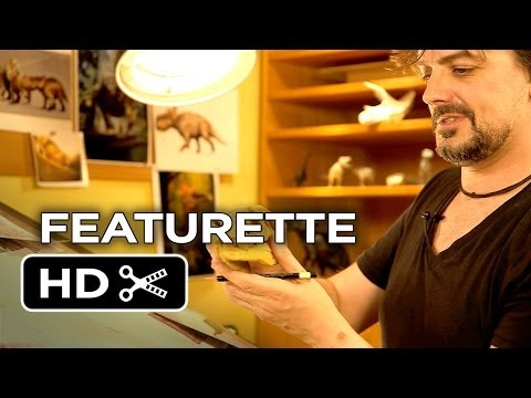 Walking With Dinosaurs 3D Featurette - Drawing A Troodan (2013) - CGI Dinosaur Movie HD