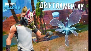 Fortnite Battle Royale Stagione 5 NUOVO Drift Skin Gameplay ed Esplorazione mappa!
