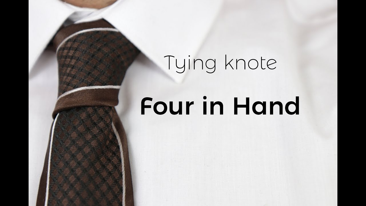 How do you tie four in hand very easy youtube how do you tie four in hand very easy ccuart Image collections