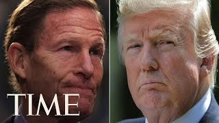 President Trump Bashes Senator As 'Phony Vietnam Con Artist' | TIME thumbnail