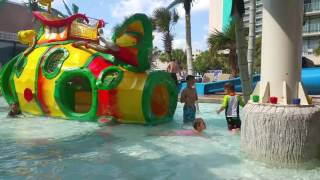 Kids at Myrtle Beach Fun Water Park Swimming  Friendly Resort South Carolina  Agnessa Family vlog