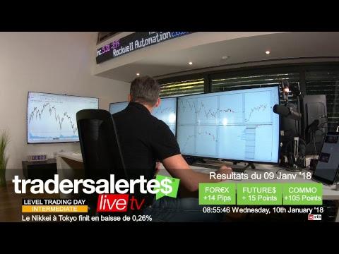 Hello Traders Emission du 10 Janvier 18