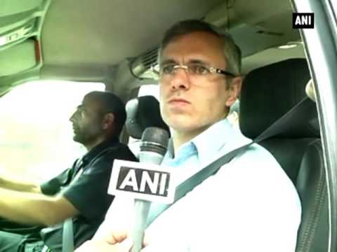 BSF has no equipment to control crowd in Kashmir: Omar Abdullah - ANI News