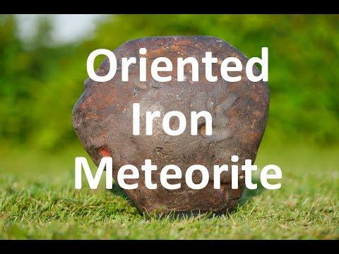 METEORITES360° - Oriented iron meteorite from Niger