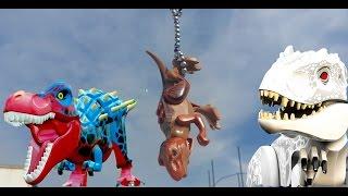 ЛЕГО ДИНОЗАВРЫ. ИНДОМИНУС РЕКС БЕЗ ГОЛОВЫ И БЕЗ НОГИ. Lego dinosaur Jurassic word