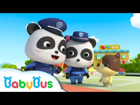 ❤ Baby Panda Police Man | Animation & Kids Songs collections For Babies | BabyBus