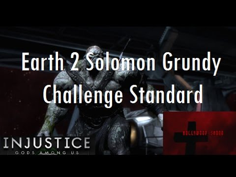 Injustice Gods Among Us iOS - Earth 2 Solomon Grundy Challenge Full Standard Difficulty