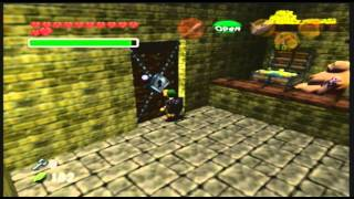 Legend of Zelda- Ocarina of Time Treasure Box Shop Personal Test