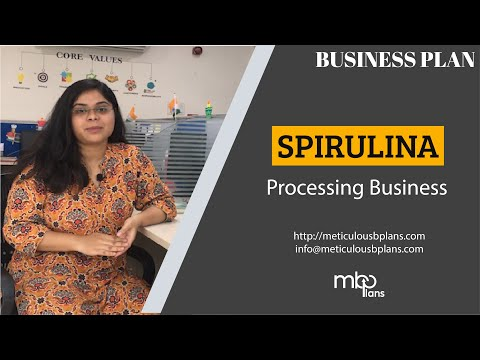 SPIRULINA Production and Processing [POTENTIAL Food and Pharmaceutical Industry Business]