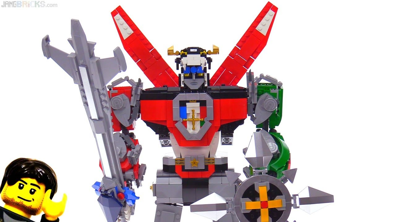 LEGO Ideas Voltron Full Review! 21311