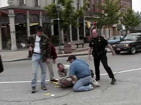 Salem Indiana street-preachers arrested part 1