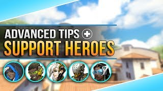 Overwatch Advanced Tips: Useful Animation Cancels for SUPPORT HEROES