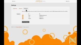 Apex Fusion Alert Configuration