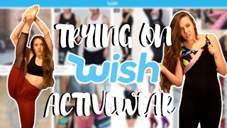 Video TRYING $5 ACTIVE WEAR FROM WISH!? download MP3, 3GP, MP4, WEBM, AVI, FLV Juni 2018