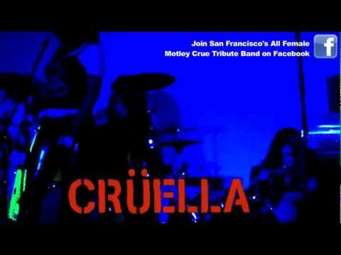 Cruella All Female Motley Crue Tribute Band plays Live Wire