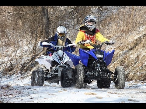 2011 125cc sport atv shootout youtube for Atv yamaha raptor 125cc