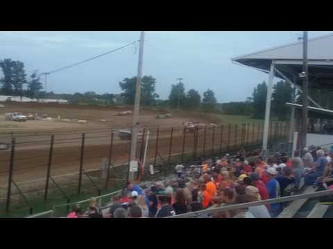 World of Outlaws Late Model Heat 2  Fayette County Speedway