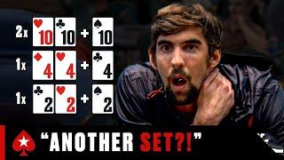 MICHAEL PHELPS: Gold in Poker Olympics? ♠️ Celebrities in Poker ♠️ PokerStars
